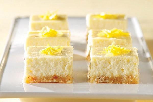4. Low Carb Lemon Cheesecake Bars