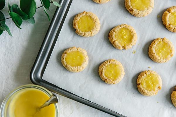 Lemon Curd Cookies