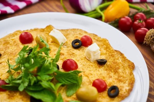 Omelette Ala Restoran Siap Saji Terkemuka