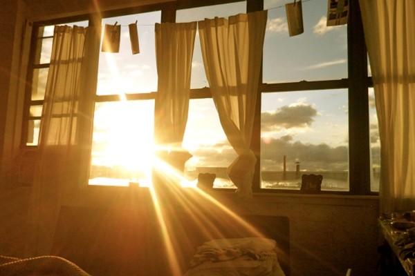 Sinar Matahari Adalah Media Terbaik Untuk Bangun Pagi