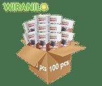 100 pcs Brownies Crispy Rasa Chocochips - Wiranilo