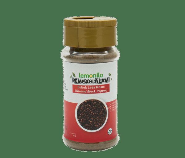 Rempah Bubuk Lada Hitam (Ground Black Pepper) 50 gr | Lemonilo 0
