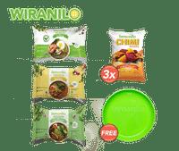 Paket Chimi Ubi & Mie Gratis Piring - Wiranilo