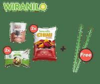 Paket Mie Goreng dan Cemilan GRATIS Sumpit Lemonilo - Wiranilo