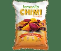 Keripik Ubi Chimi Rasa Jagung Bakar 40 gr | Lemonilo
