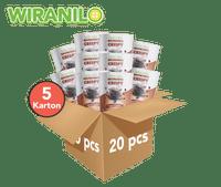 5 Karton (Isi 20) Brownies Crispy Rasa Chocochips - Wiranilo